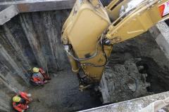 1024.bku Baugrube Kanalumlegung B223 - A23