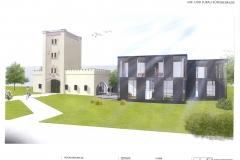 1809.NET Bürogebäude Neufeld Turm - Visualisierung 2