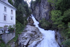 Stream passing through the middle of Bad Gastein