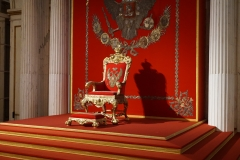 Coronation Throne for Catherine the Great