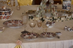 Breakfast table of the Romanows
