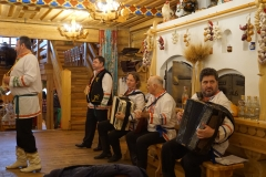 at the Podvorye-Restaurant ( with Heavy Russian Folk Music )