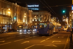 Nevsky Prospekt by night