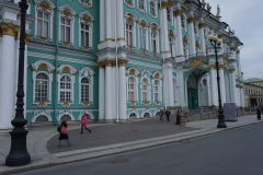 outside the Hermitage