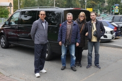 Eduardo, Veronika with guide and driver
