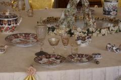 Breakfast table of the Romanows
