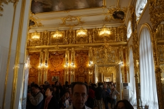 Leaving the famous Amber-Room