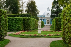 park surrounding the palace