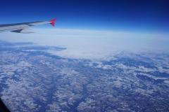 over frozen Austria