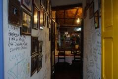 Entrance Restaurant El Zaguán