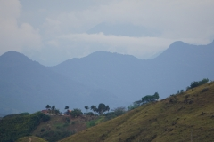 in the background the west Cordilleras