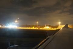 before take-off from El Dorado Airport Bogotá