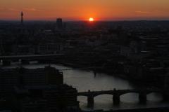 London sunset No.1