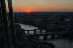 London sunset No.2