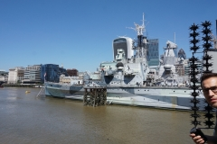 War-ship HMS Belfast