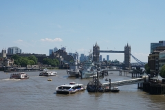 Tower Bridge from far