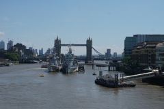 view back to Tower Bridge