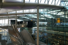 at Heathrow, good bye London, stay well !