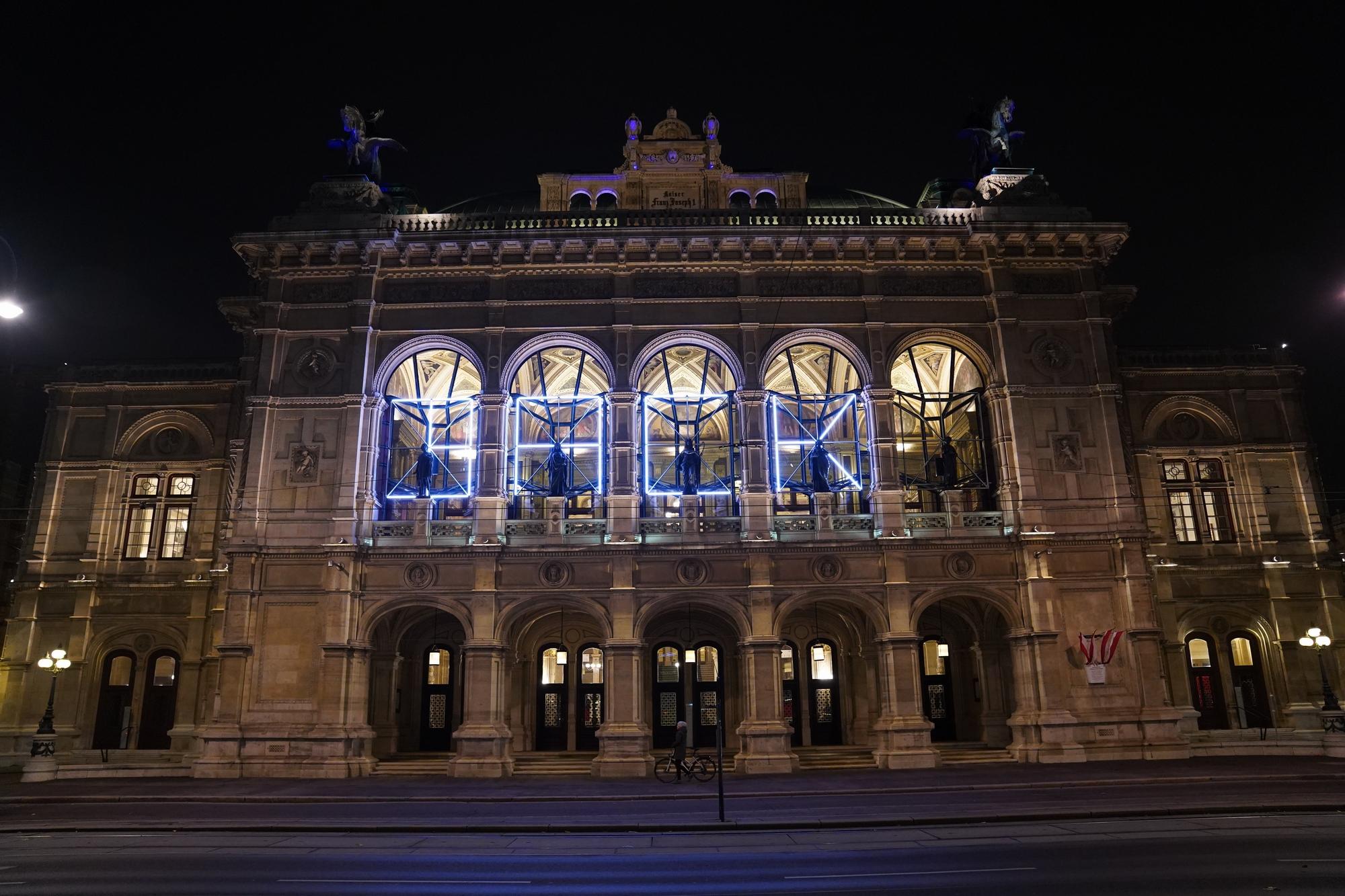 Casa  de Opera de Vienna,