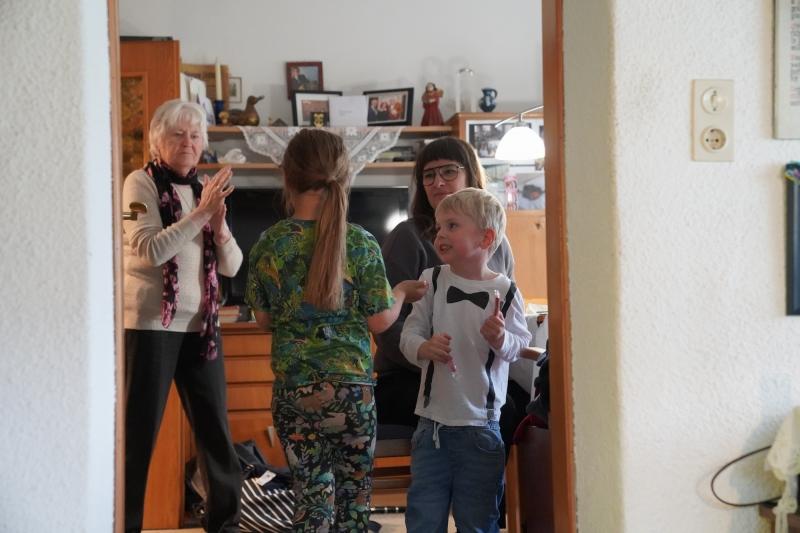 Frieda, Rebecca, Natasa, Lenny