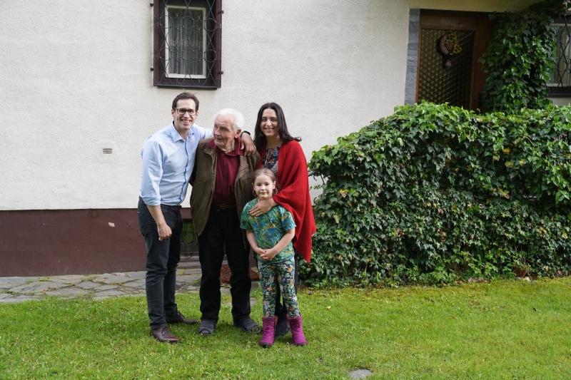 Hans, Manuel, Camila and Rebecca