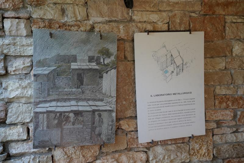 iron melt  labatory  ( 2500 years ago )