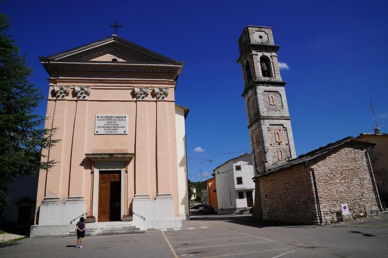 Murano church with campanile