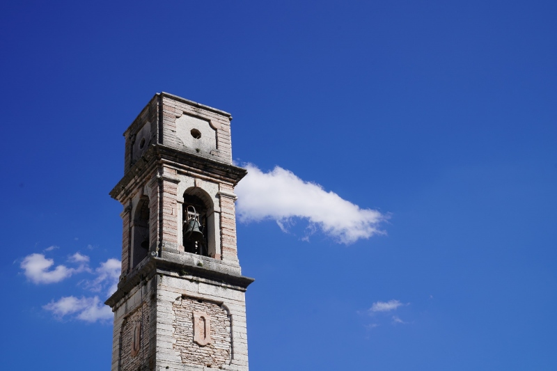 Campanile ( clocktower ) with cloud