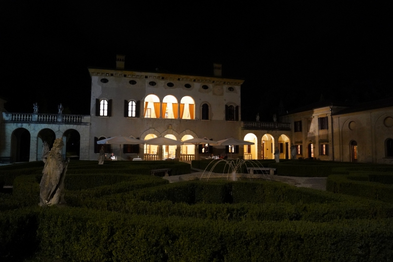 Villa Giona in all her magnificence
