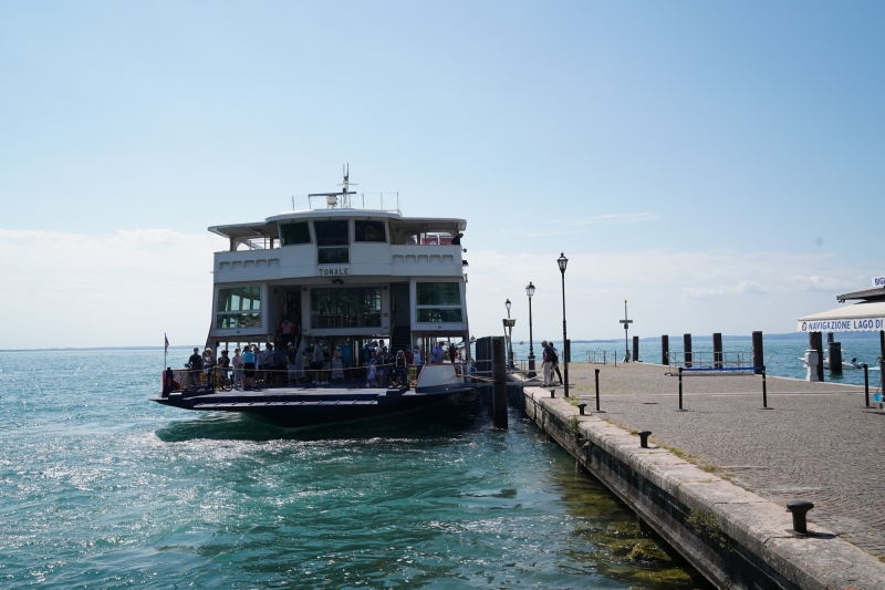 Ferry ready to dump all the german tourists