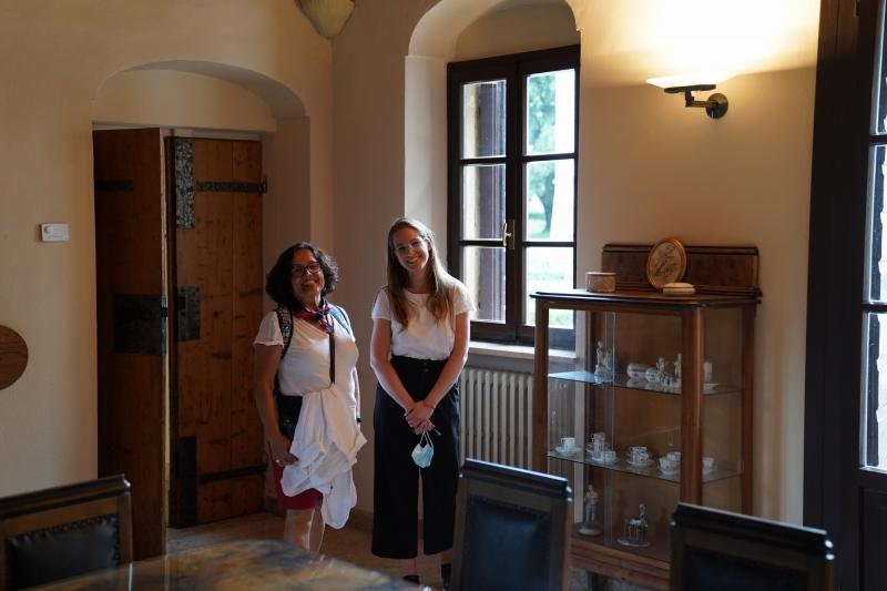 Anna, the good fairy of Villa Giona