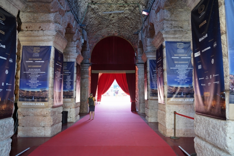 Entrance for the nobles and hooligans