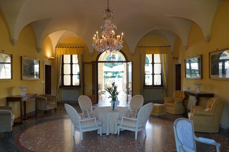 last glimpse of the beautiful interior of Villa Giona
