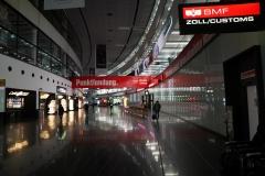 Flughafen Schwechat mit  Kummerl-Virus