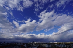 Dramatic Easter Sky over  Vienna