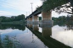 Ostbahnbrücke über die Neue Donau