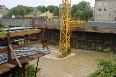 205.pst Wienfluß bei Hochwasser