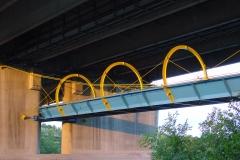 99030.pra Seilsteg unter A23 Praterbrücke