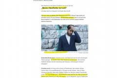 2020-09-05  Lercherl, der Meta-Rassist, in denkend-leidender Pose ( sollte einmal was vom schwarzen Thomas Sowell lesen )