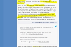 2020-09-08  die Migrationsforschenden in der Tasche vom Soros György, fast undenkbar.