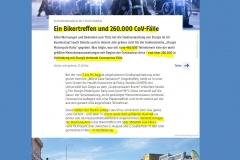 2020-09-12  demgegenüber konnten beim monatelangen friedlichen Abfackeln diverser Innenstädte keine CoV-Übertragungen festgestellt werden, so die Autoren