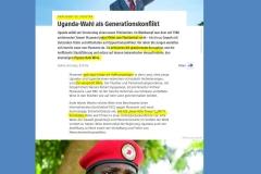 2021-01-14  fragt sich, ob Bobi die Power und das Charisma hat, Uganda in Wakanda zu verwandeln