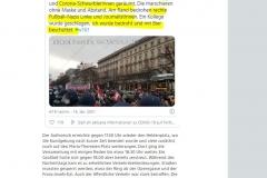 2021-01-17  Das Ende. Objektiv berichtende MedienvertreterIn mit Bier übergossen und angelacht