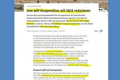 2021-02-17  ich denke, die IAEA-Schwuchteln sollten wieder ein ordentliches Deeskalationspaket schnüren