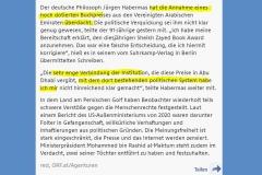 2021-05-03 der  deutsche Filosof hat sich auch den kommunistischen Giftmüll, den er lebenslänglich verbreitet hat, nicht hinreichend klargemacht