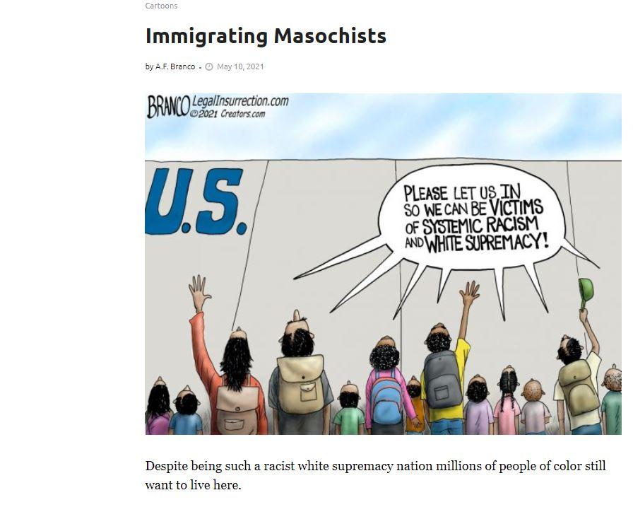 2021-05-10 BRANCO Immigrating Masochists