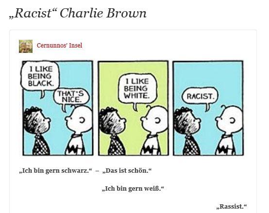 Charlie Brown Racist