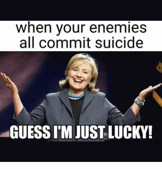 Hillary lucky