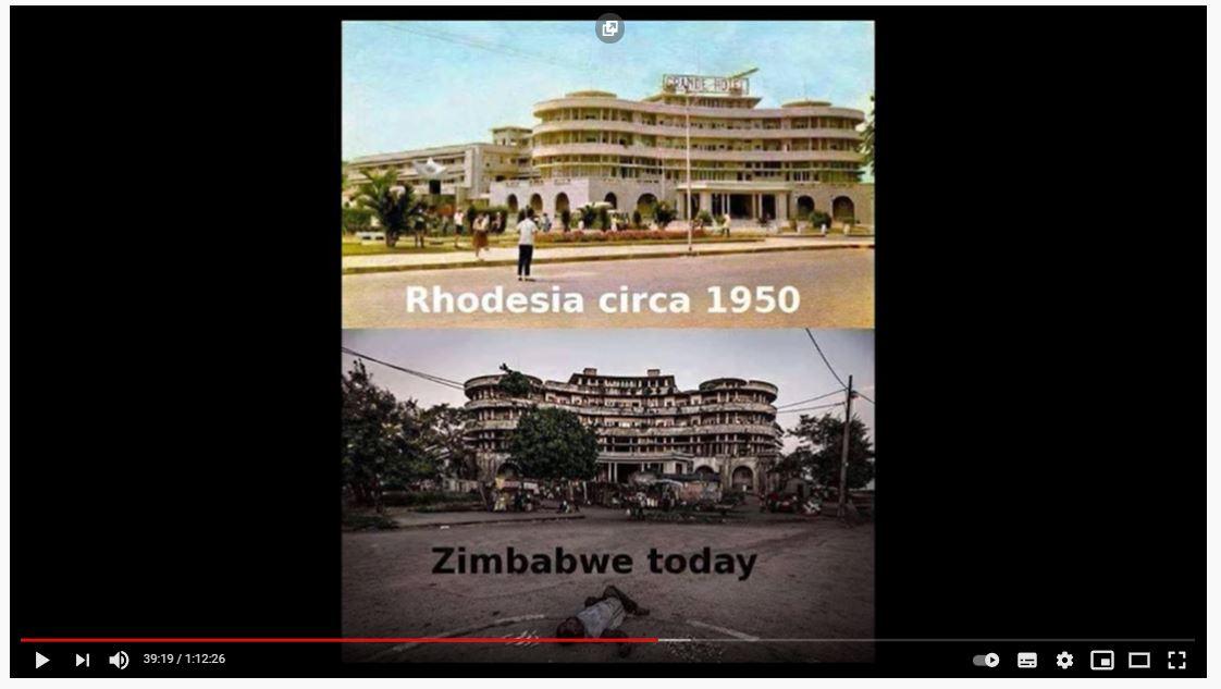 Rhodesia vs Zimbabwe
