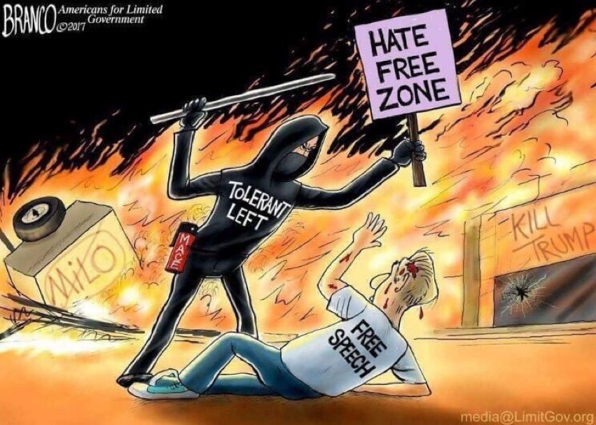 The tolerant left